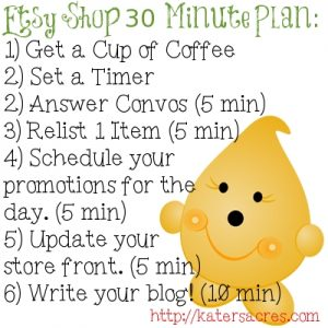 Build Your Brand 30 Minute Etsy Plan by KatersAcres