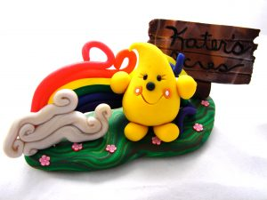 Parker's Story in Polymer Clay by KatersAcres