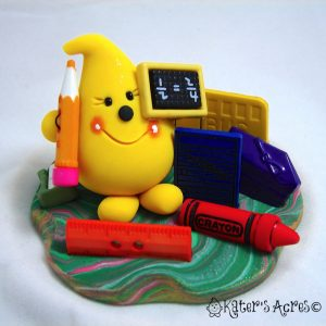 Classroom Parker StoryBook Figurine - Limited Edition - by KatersAcres