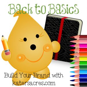 Notebook - Back to Basics Build Your Brand with KatersAcres - Advice, Tips, & Tricks to Establishing a Successful Etsy Store