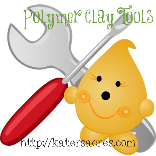Polymer Clay Tools with Parker by KatersAcres