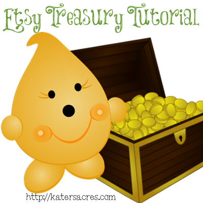 Build Your Brand with this Step by Step Etsy Treasury Tutorial by KatersAcres