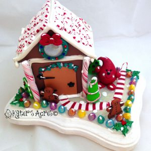 Parker's GingerBread House StoryBook Scene by KatersAcres