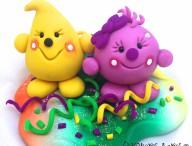 2013 Polymer Clay Figurine StoryBook Scenes