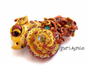 Christi Friesen Style Dragon for the Friesen Project - How to Make a Polymer Clay Dragon https://katersacres.com