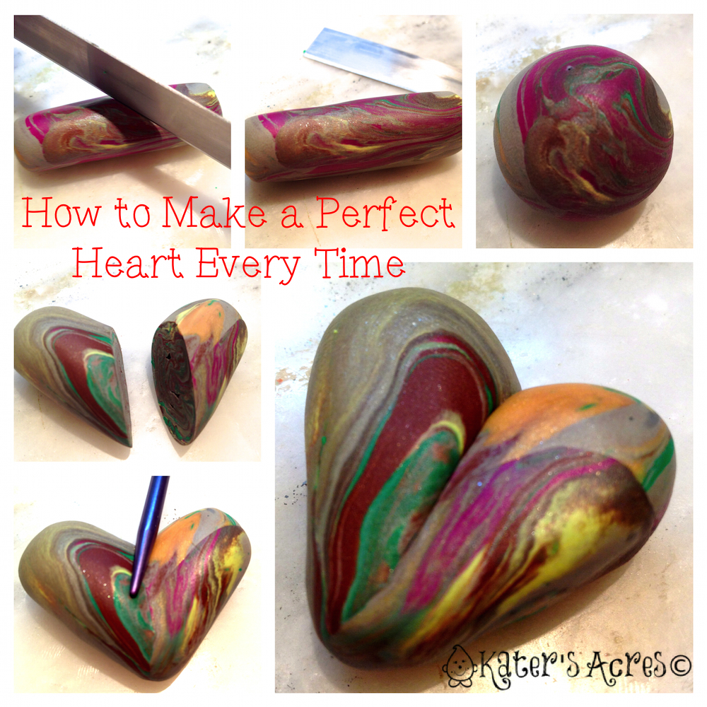 How to Make a Heart by KatersAcres http://katersacres.com