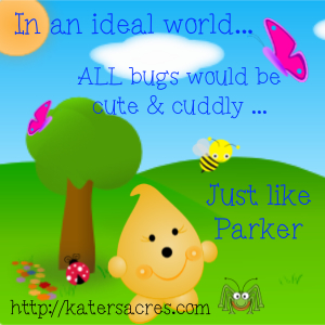 "Parker's Ideal World with The Friesen Project - Book 2 ""JUNGLE"" Tutorial for Bug & Heart by KatersAcres http://katersacres.com"