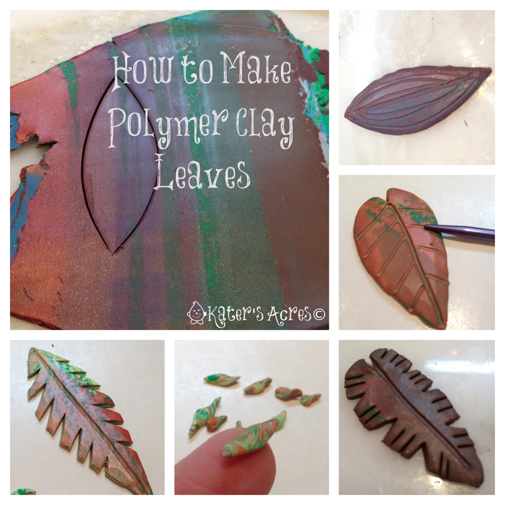 A Leafy Polymer Clay Tutorial Christi Friesen Style with the #FriesenProject and Book 2: Jungle