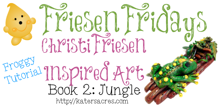 Polymer Clay Frog Tutorial Inspired by Christi Friesen