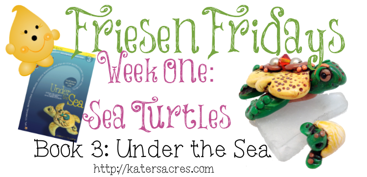 Make Your Own Christi Friesen Style Polymer Clay Turtle Tutorial