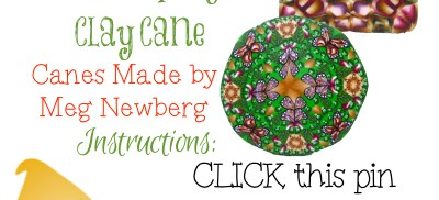 Giveaway Meg Newberg Polymer Clay Canes on KatersAcres Blog