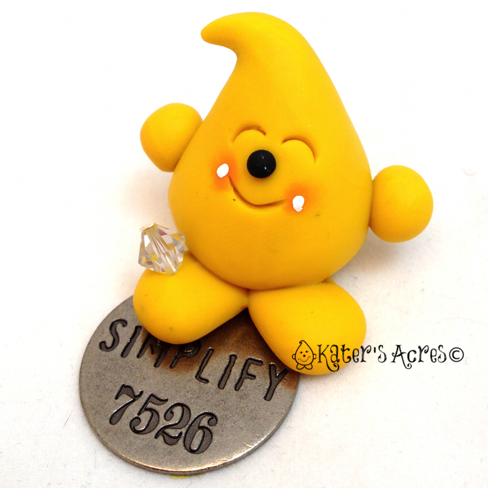 """Parker Expressions """"Simplify"""" Polymer Clay Figurine by KatersAcres"""