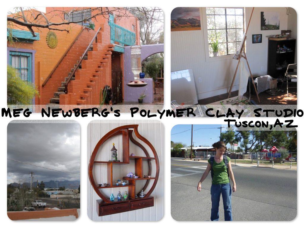 Meg Newberg's Polymer Clay Studio in Tuscon, AZ