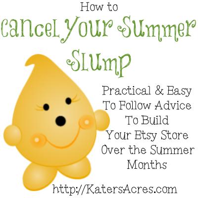 Cancel Your Summer Slump on Etsy