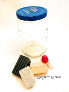 Materials Need to Cover a Jar in Polymer Clay by KatersAcres
