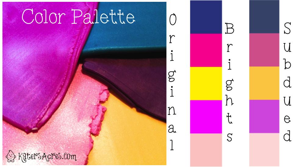 """Summer Moods"" Color Palette by KatersAcres"