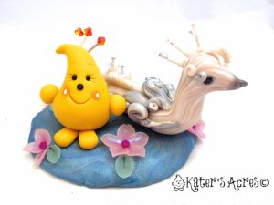 Parker & Peacock Polymer Clay StoryBook Scene by KatersAcres