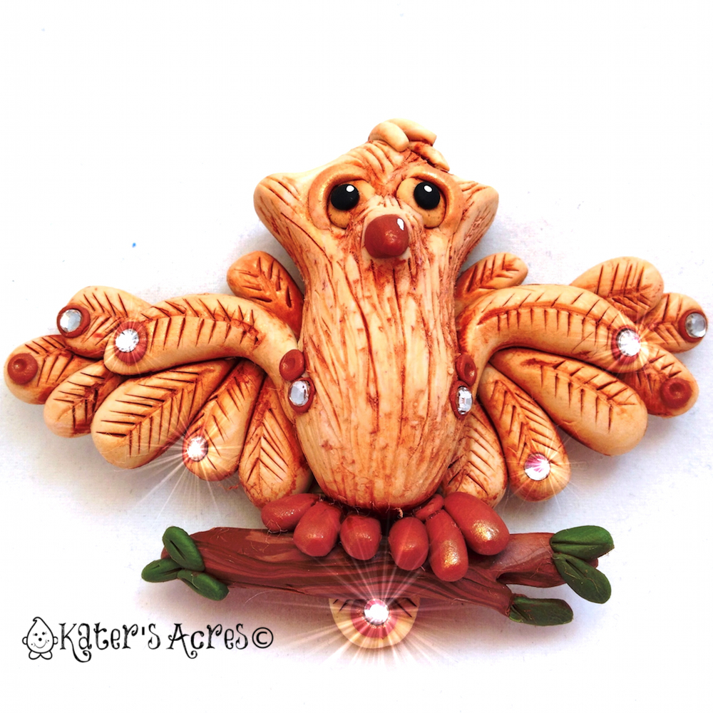 Polymer Clay Owl Project from Christi Friesen by KatersAcres