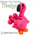 Polymer Clay Flamingo Tutorial by KatersAcres