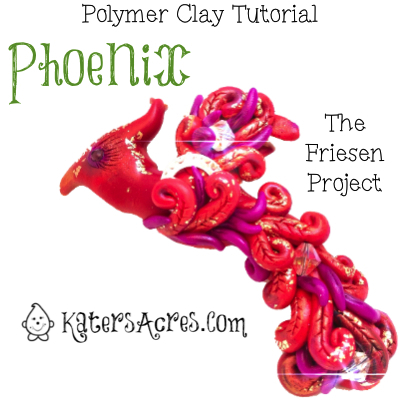 Polymer Clay Phoenix Tutorial Overview for The Friesen