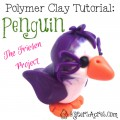 Polymer Clay Penguin Tutorial | One of Over 40 Polymer Projects for the Friesen Project of 2013 on KatersAcres Polymer Clay Blog