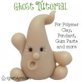 Ghost Tutorial by KatersAcres | For Polymer Clay, Fondant, Gum Paste, Sugar Paste, and Other Sculpting Mediums