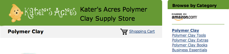 Kater's Acres Amazon Store   Polymer Clay Books, Tools, Supplies, & More