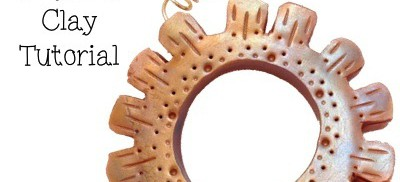 Steampunk Tutorial: How to Make a Cog from Polymer Clay by KatersAcres | In conjunction with The Friesen Project of 2013
