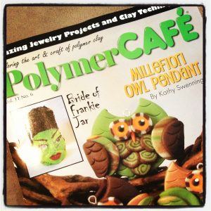 Polymer Clay Magazine Review by KatersAcres