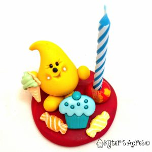Birthday Parker Cake Topper Candle Holder by KatersAcres