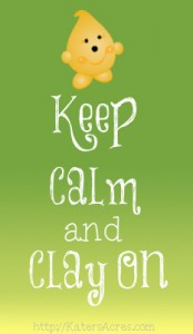 Keep Calm & Clay On Graphic by KatersAcres
