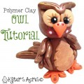 Polymer Clay Owl Tutorial by KatersAcres
