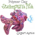 Steampunk Fish Tutorial by KatersAcres | In Conjunction with the Friesen Project for 2013