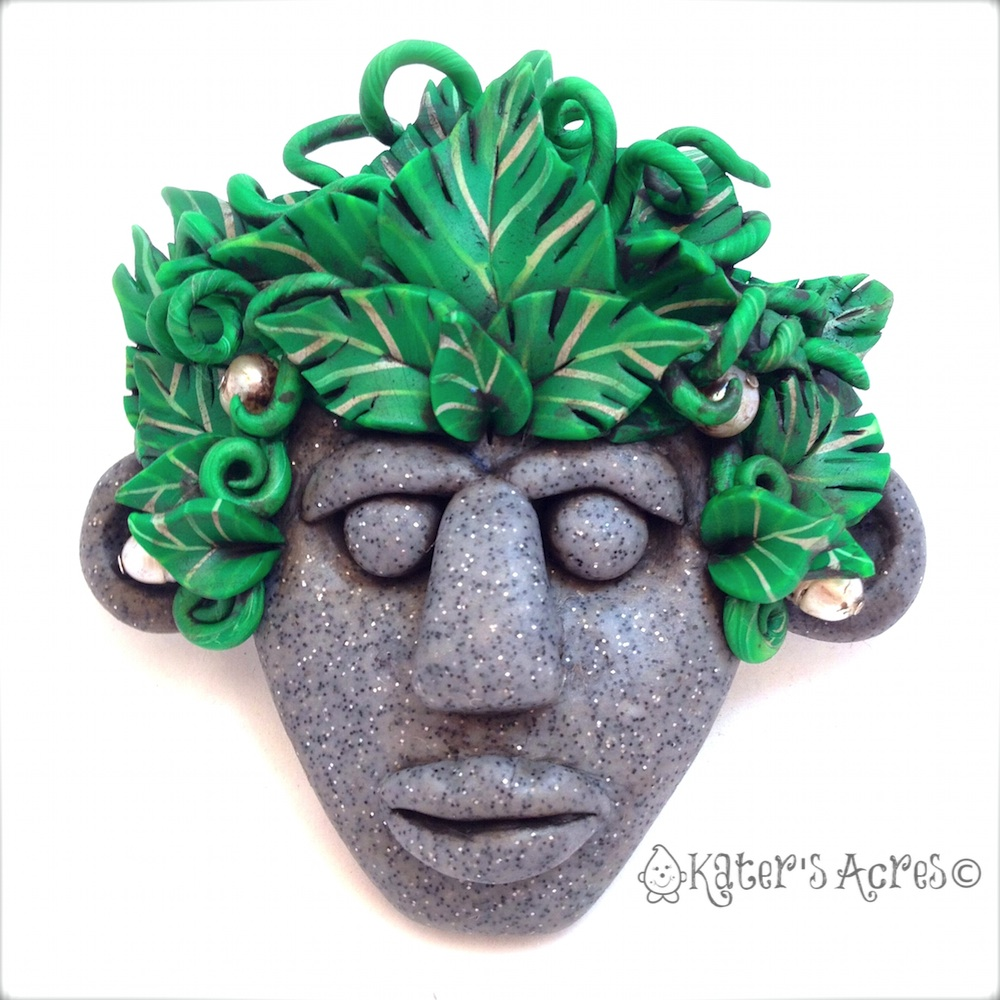 Menehune Tribal Mask by KatersAcres