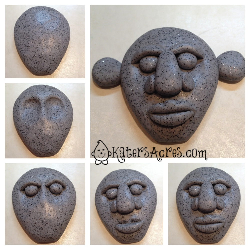 Making a Tribal Face - Making of a Menehune by KatersAcres