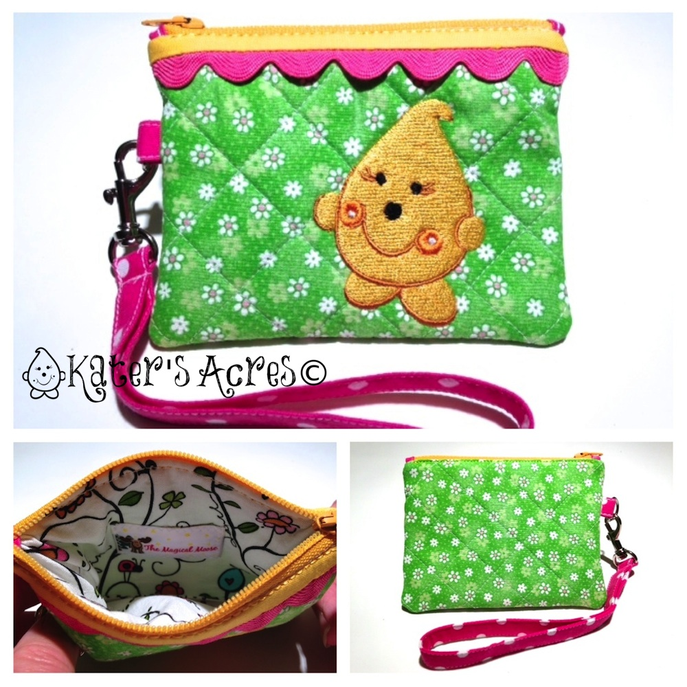 Enter to Win a FREE Wristlet Giveaway - Parker Wristlet from Kater's Acres