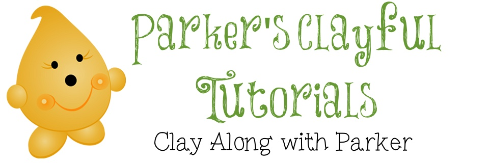 Parker's ClayFul Tutorials - Newsletter Header