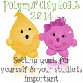 2014 Polymer Clay Studio Goals by KatersAcres