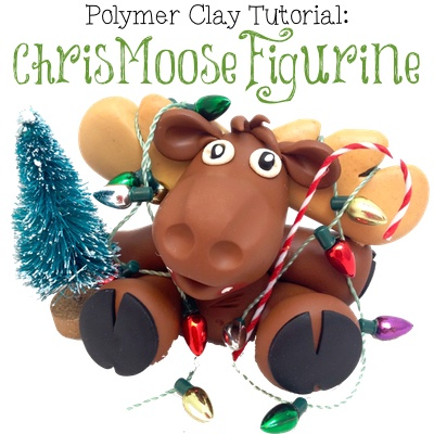 Polymer Clay ChrisMoose Figurine Tutorial by KatersAcres