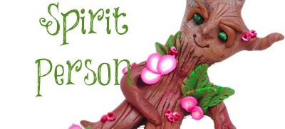 Polymer Clay Tree Spirit Person Tutorial by KatersAcres | Final tutorial for the 2013 Friesen Project