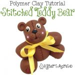 Stitched Teddy Bear Tutorial by KatersAcres