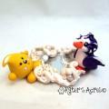 Snowplay Parker & Penguin StoryBook Scene Figurine by KatersAcres