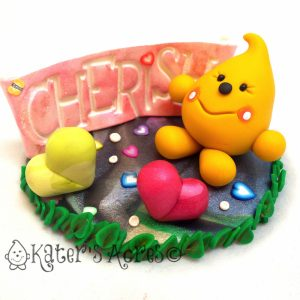 Cherish Parker Polymer Clay StoryBook Scene by KatersAcres