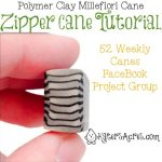 Zipper Cane Tutorial by KatersAcres
