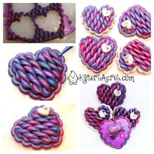 Scrappy Sweater Heart Tutorial Steps 2 by KatersAcres