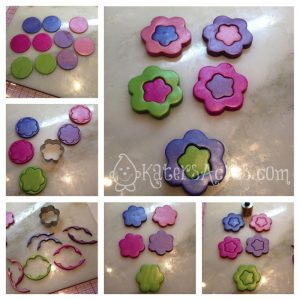 Polymer Clay Millefiori Tutorial: Doodle Color Changing Flower Cane by KatersAcres | Get the tutorial & sign up for FREE tutorials
