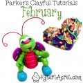 Parker's Clayful Tutorials Club: February 2014 Review | CLICK to get information, purchase tutorials, or sign up to JOIN the club
