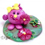 Spring Lolly Collectible StoryBook Scene Figurine by KatersAcres