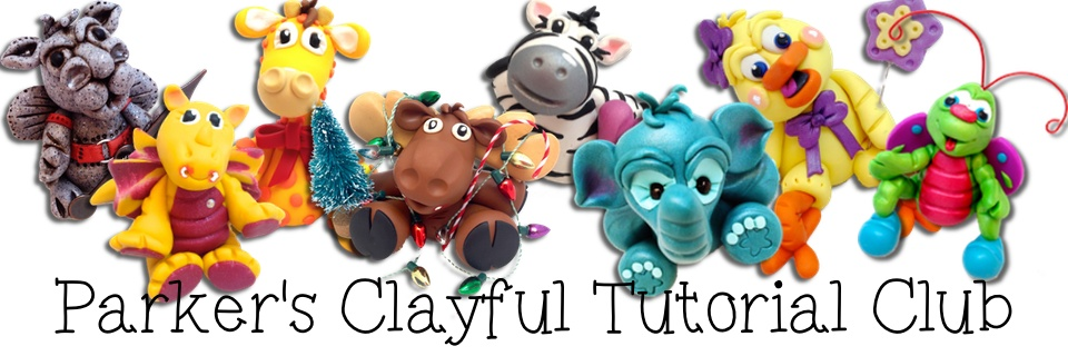 Polymer clay tutorial animals