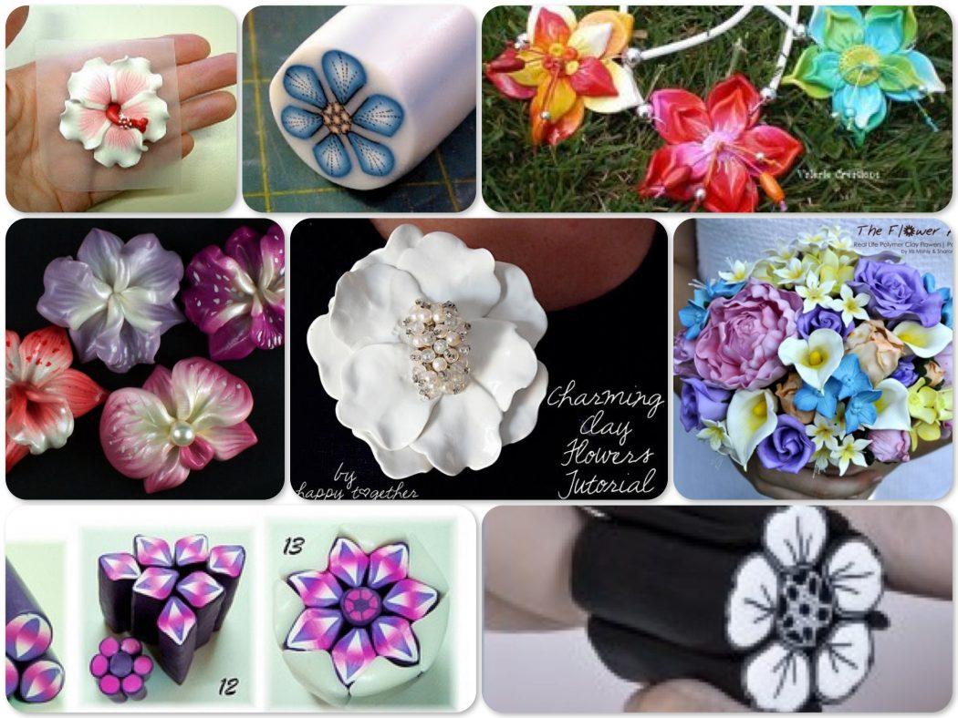 flower clay tutorial - photo #36